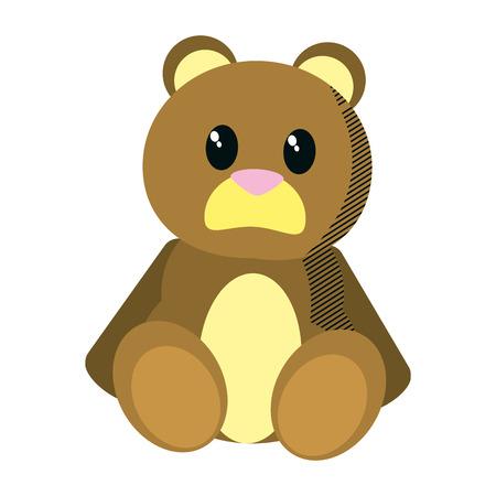bear cute toy childhood Ilustração