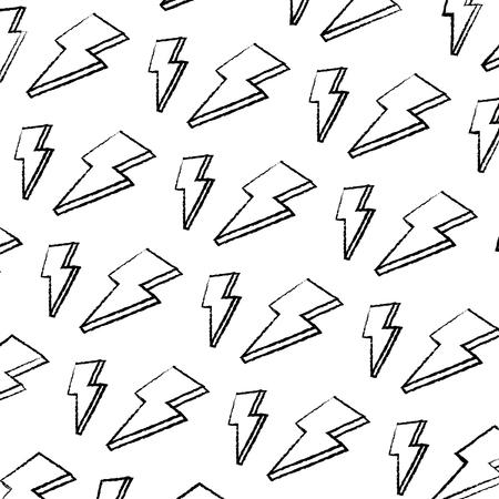 grunge nice light thunder art background vector illustration