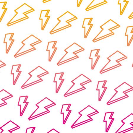 degraded line nice light thunder art background vector illustration Vetores