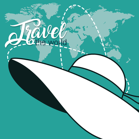 Travel the world Illustration