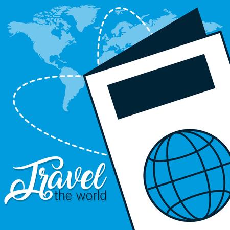 Travel the world Foto de archivo - 107324966