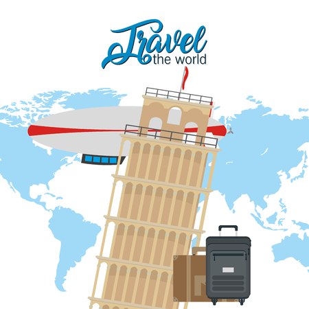 Travel the world 矢量图像
