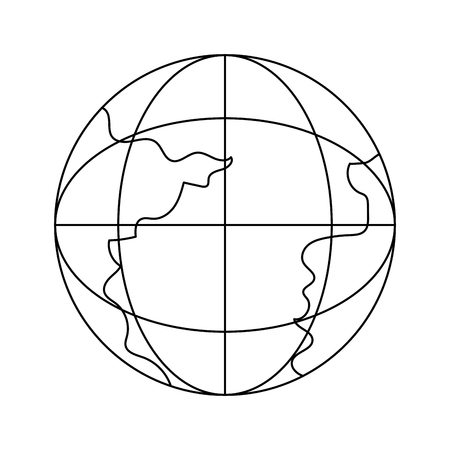 outline network global connection data technology