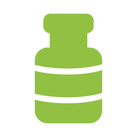 Spa bottle symbol vector illustration graphic design