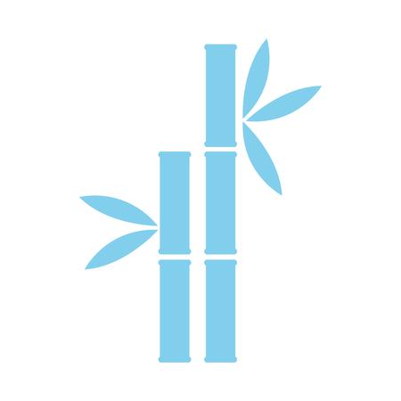 Spa bamboo symbol vector illustration graphic design 向量圖像