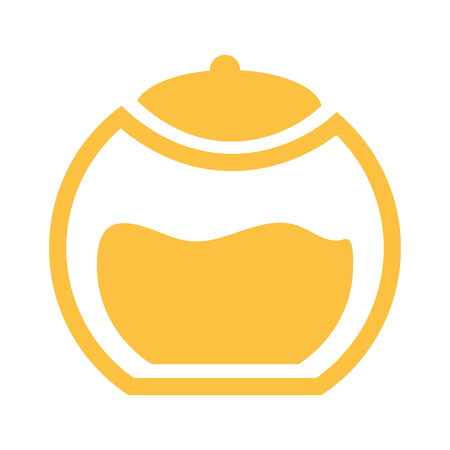 Spa pot with oil symbol vector illustration graphic design 向量圖像