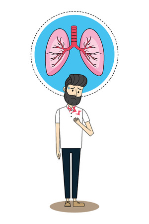Human disease cartoon