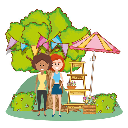 Women and gardening