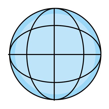 Global sphere symbol