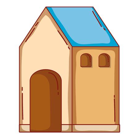 house cartoon Illusztráció