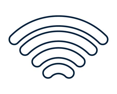 Wifi internet symbol