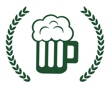 Beer design, St patricks day ireland celebration fortune and irish theme Vector illustration Illustration