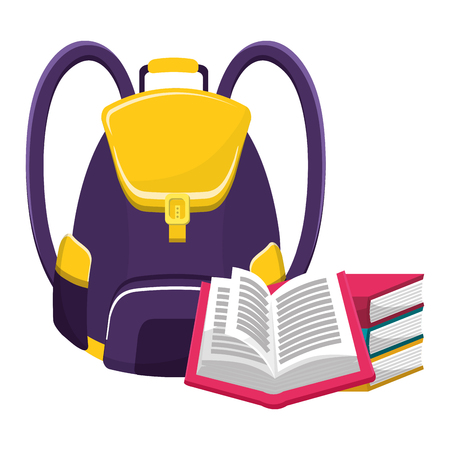 back to school tools vector illustration graphic design