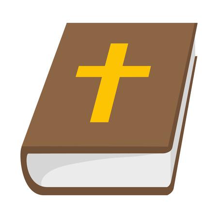 saint bible cartoon vector illustration graphic design