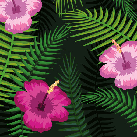 seamless floral pattern cartoon vector illustration graphic design
