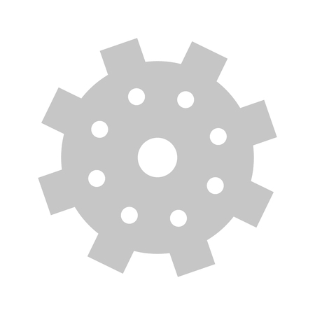 successful business concept element support gears cartoon vector illustration graphic design 向量圖像