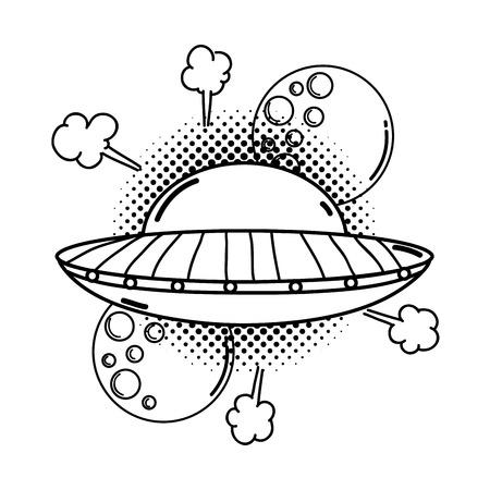 39759 Ufo Cliparts Stock Vector And Royalty Free Ufo Illustrations