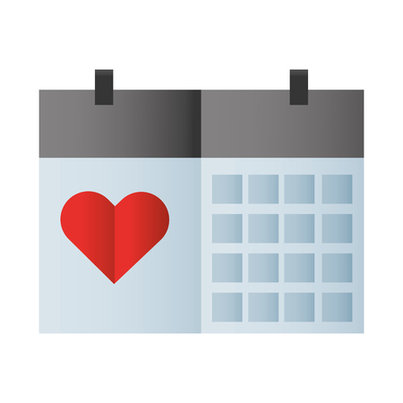 valentines day heart cartoon vector illustration graphic design