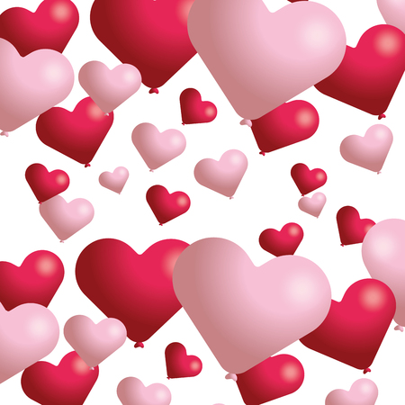 valentines day heart cartoon vector illustration graphic design