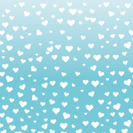 valentines day heart pattern cartoon vector illustration graphic design Ilustrace
