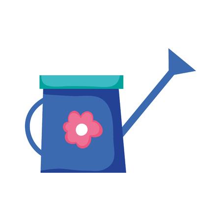 cute sprinkler of garden vector illustration design
