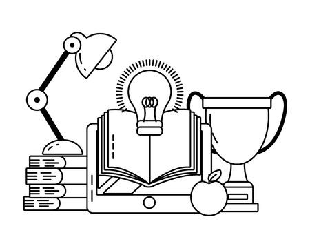 study element cartoon vector illustration graphic design Vektorové ilustrace