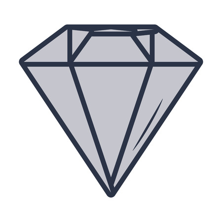 luxury diamond cartoon vector illustration graphic design