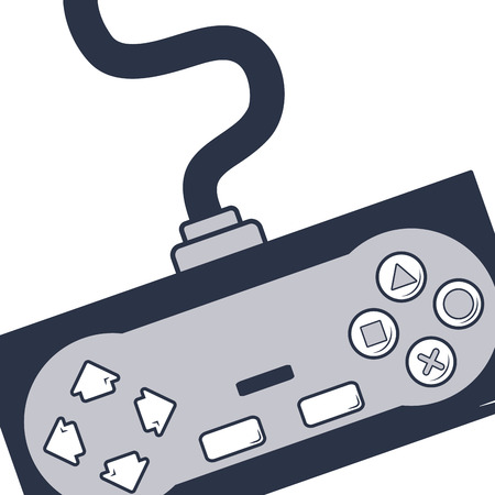 videogame time cartoon vector illustration graphic design Çizim