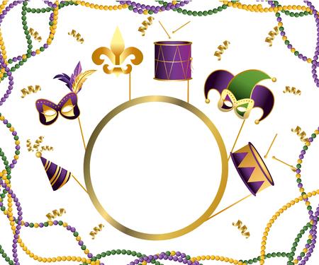 party element cartoon vector illustration graphic design