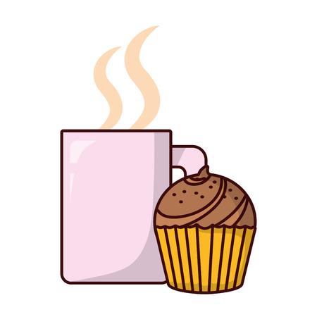 bakery food cartoon vector illustration graphic design