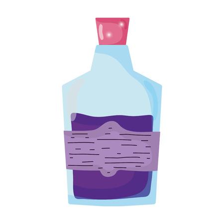 magic potion bottle icon vector illustration design Illustration