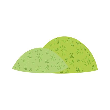 cute fairytale bush icon vector illustration design