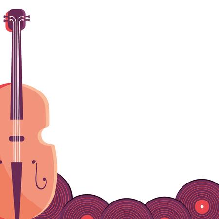 music instrument cartoon vector illustration graphic design