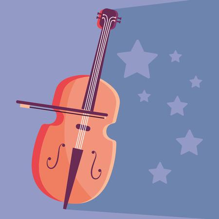 music instrument cartoon Ilustração