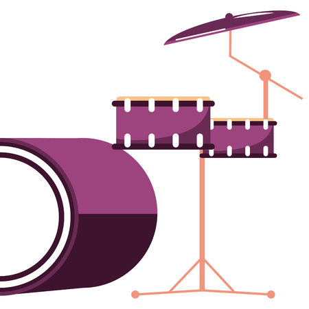 music instrument cartoon vector illustration graphic design