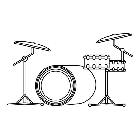 music instrument cartoon vector illustration graphic design 向量圖像