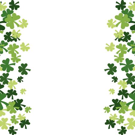 four leaf clover vector illustration Vektorové ilustrace