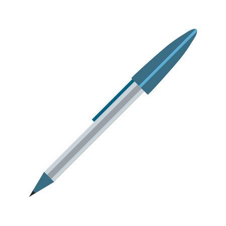 study element pencil cartoon vector illustration graphic design