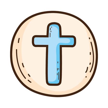holy host communion icon Ilustracje wektorowe