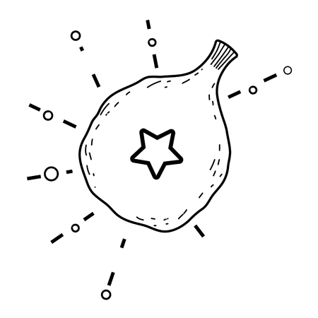 deflated balloon hellium icon vector illustration design Ilustração