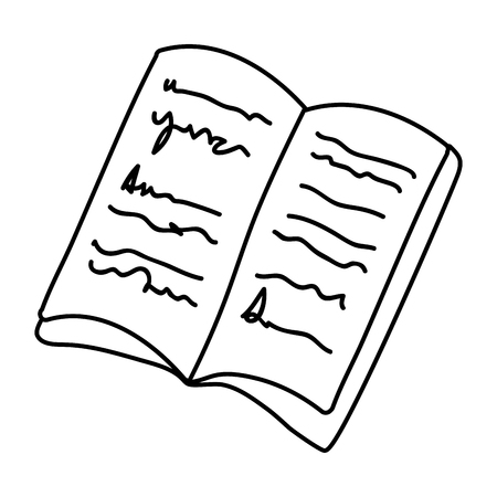 text book day celebration vector illustration design