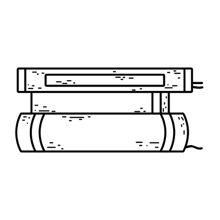 pile text books day celebration vector illustration design Ilustrace