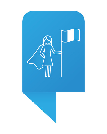woman pictogram cartoon