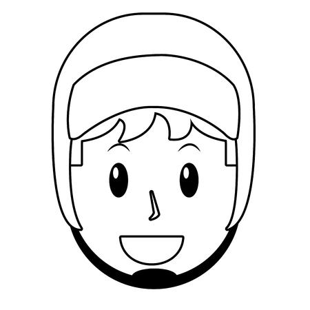 young man avatar Reklamní fotografie - 118211392