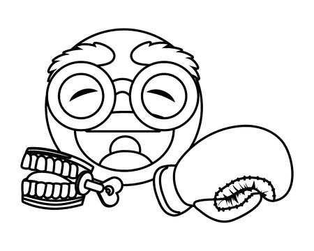 April fools day character cartoon