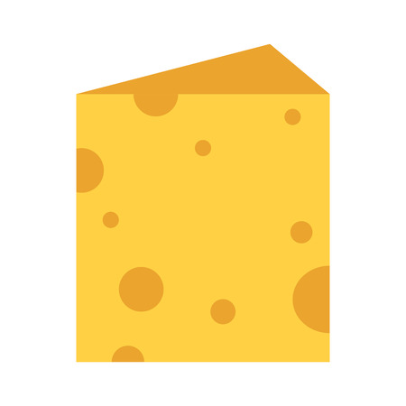 Cheese piece cartoon