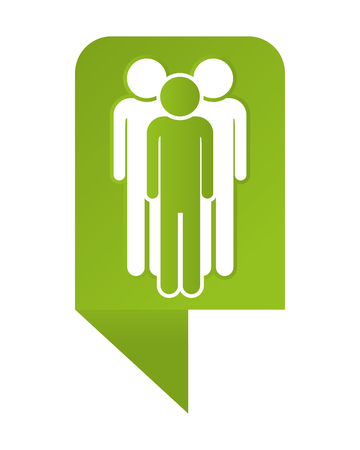 Men pictogram cartoon