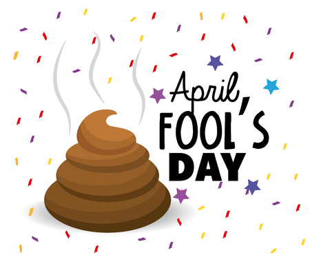 Funny   entertainment to fools day Illustration