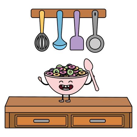 delicious tasty food cartoon