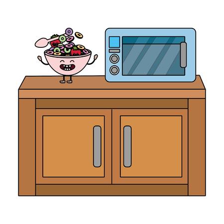 delicious tasty food cartoon Stok Fotoğraf - 119325071